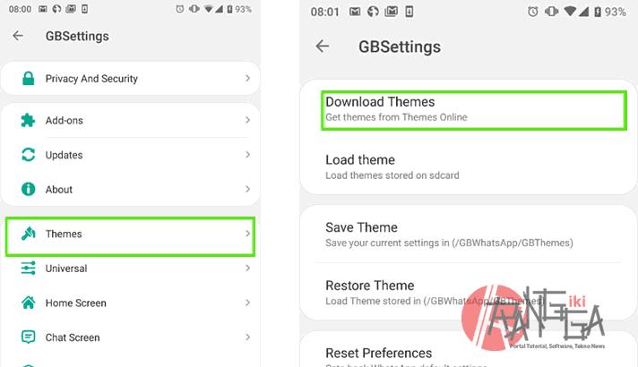 GB Whatsapp theme