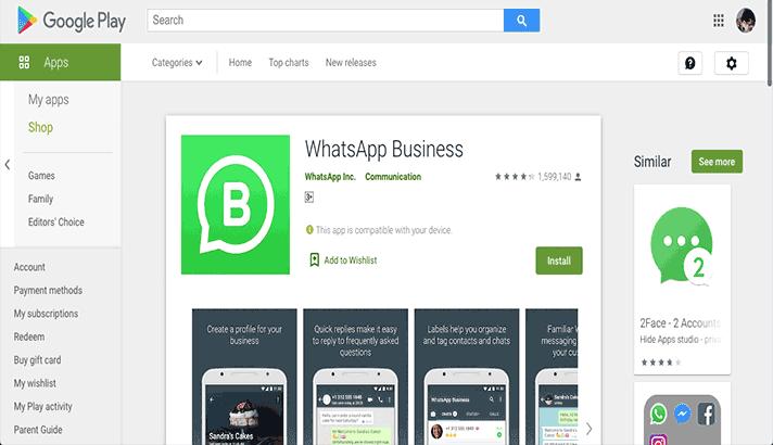 Aplikasi Whatsapp Business