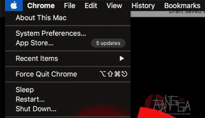 About This Mac untuk cek serial number