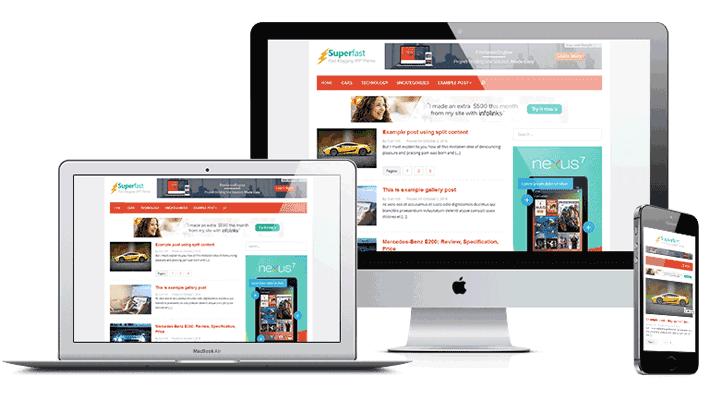 Theme Superfast Wordpress