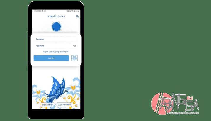 Login Mandiri Online untuk top up e-money mandiri
