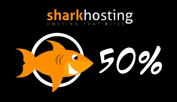 Sharkhosting diskon 50 persen untuk pengguna baru