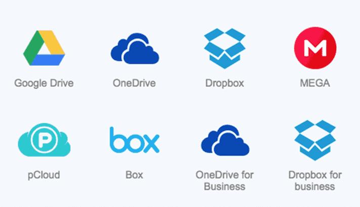 Transfer file dari Google Drive ke cloud storage lain