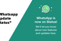 Whatsapp update status, apakah mereka panik