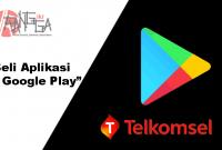 Cara membeli aplikasi di play store dengan pulsa telkomsel