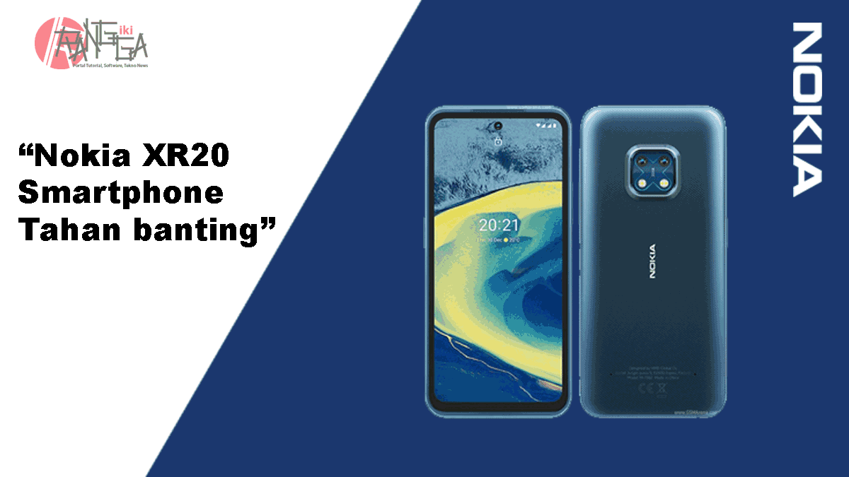 Nokia XR20 Smartphone 5G Tahan Banting