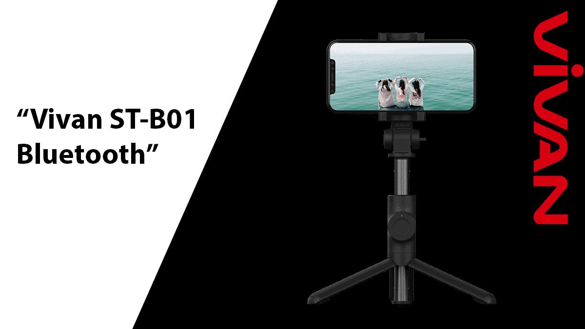 Vivan ST-B01 Bluetooth Selfie Stick
