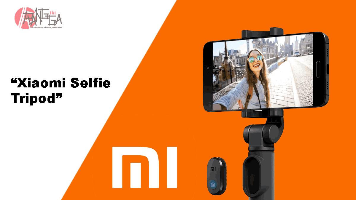 Xiaomi Selfie Tripod dengan remote Bluetooth